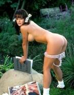 Valerie Bertinelli Sideboob Panties Down Naked Fake 001