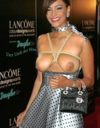 Verona Pooth Boobs Squeezed Red Carpet Event 001