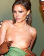 Victoria Beckham Boobs Squeezed Topless 001