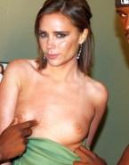 Victoria Beckham Boobs Squeezed Topless 001