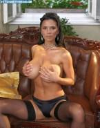 Victoria Beckham Panties Boobs Squeezed 001