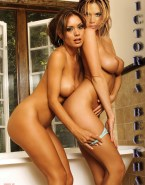 Victoria Beckham Takes Panties Off Lesbian Porn 001
