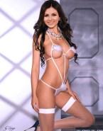 Victoria Justice Costume Lingerie Nude Fake 001