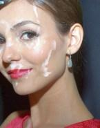 Victoria Justice Cum Facial Nsfw Fake 001