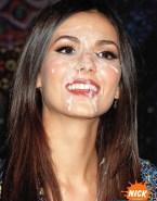 Victoria Justice Public Cumshot Facial Fake 001
