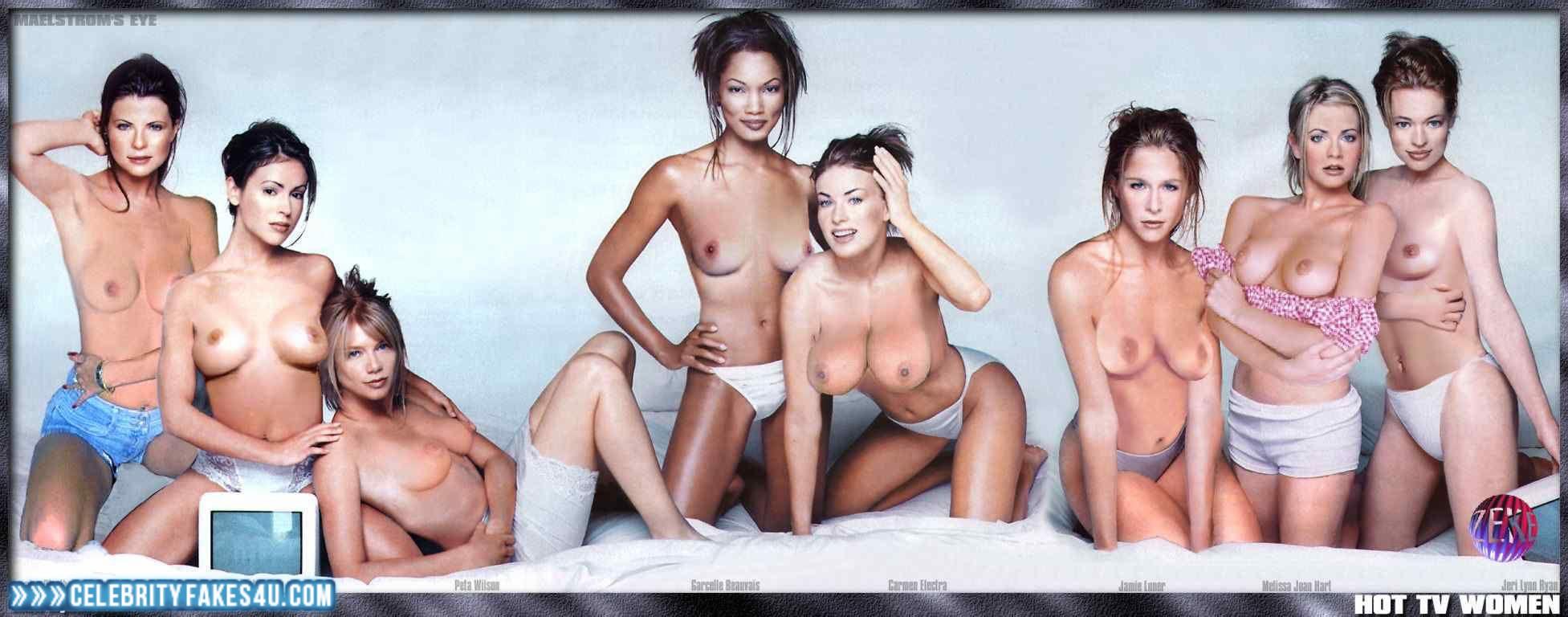 Yasmine bleeth nude in playboy — img 12