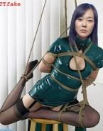 Yunjin Kim Stockings Bondage Naked Fake 001