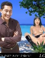 Yunjin Kim Tight Spread Pussy Fake 001