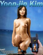 Yunjin Kim Tits Fake 002