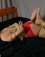 Zoe Saldana Ass Bondage 001