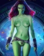 Zoe Saldana Guardians Of The Galaxy Nude Body 001