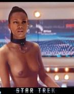 Zoe Saldana Tits Star Trek Nude 001