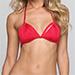Indah Andrea Bikini Top, Red