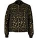River Island Khaki Glam Camouflage Bomber Jacket