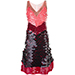 Altuzarra Sequined Colour Block Dress