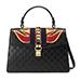 Gucci Sylvie Leather Top-handle Satchel Bag
