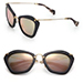 Miu Miu Modified Cat-Eye Sunglasses