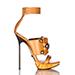 Lanvin chaussure femme wood buckle sandal