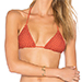 Acacia Swimwear Humuhumu Bikini Top in Peach
