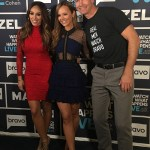 "Nicole Lapin on Bravo's ""Watch What Happens Live"" with Real Housewife of NJ Melissa Gorga and Jerry O'Connell."