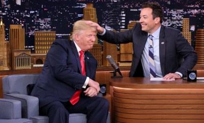 Donald Trump and Jimmy Fallon