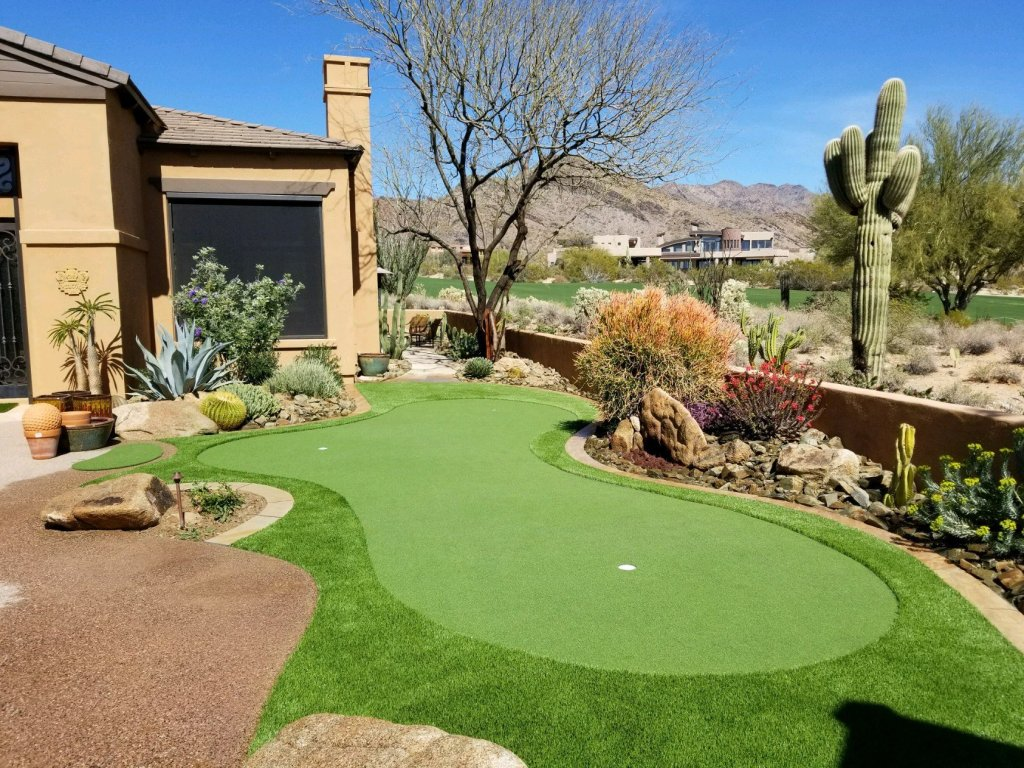 arizona synthetic turf putting green