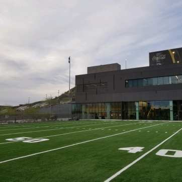 synthetic grass agility field at ASU