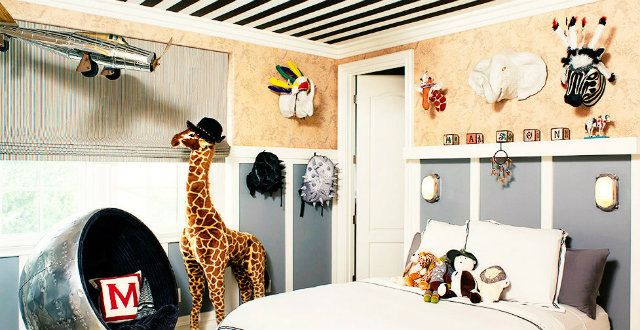 Inside Celebrity Homes – Kids Bedrooms_Kourtney Kardashian's Son0