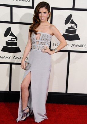 Grammy Awards 2013 red carpet Katy Perry Taylor Swift