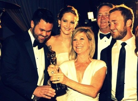 Jennifer Lawrence Family