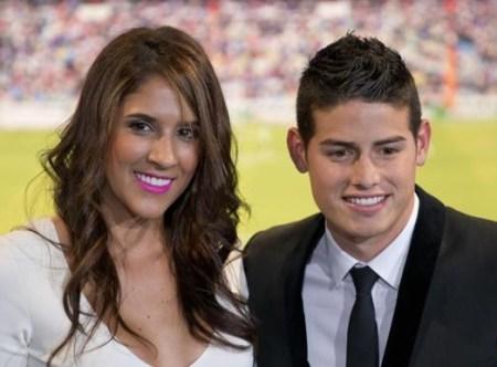 James Rodríguez Wife