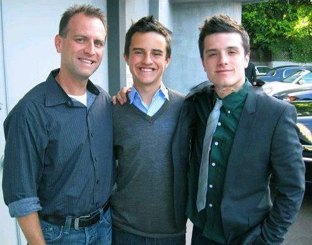 Josh Hutcherson Father and Brother