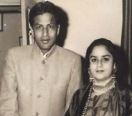 SRK Father and Mother