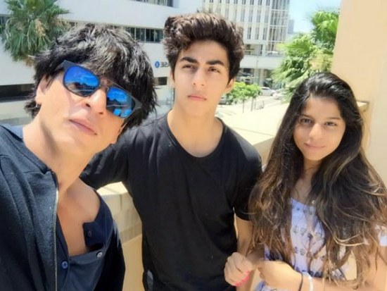 Shahrukh Khan Son and Daughter Suhana