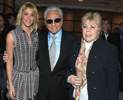 Shakira Parents