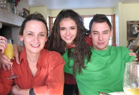 Nina Dobrev Brother and Mother