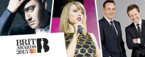Brit Awards 2015 UK TV Live Broadcasting Channels List