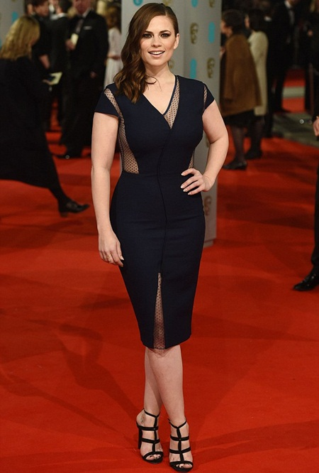 Hayley Atwell Height Weight