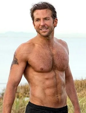 Bradley Cooper Body Measurements
