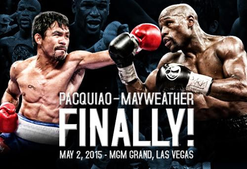 Floyd Mayweather Vs Pacquiao Fight 2015 Schedule and TV Coverage