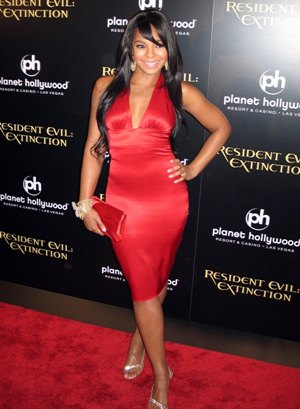Ashanti Height Body Shape