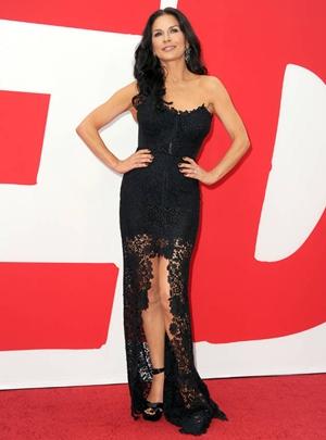 Catherine Zeta-Jones Height Body Shape