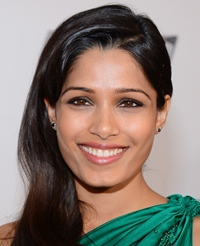 "Famous Indian Model and Actress ""Freida Pinto"" was born on October 18, 1984  in Mumbai. Basically, she belongs to Mangalorean Catholic family."