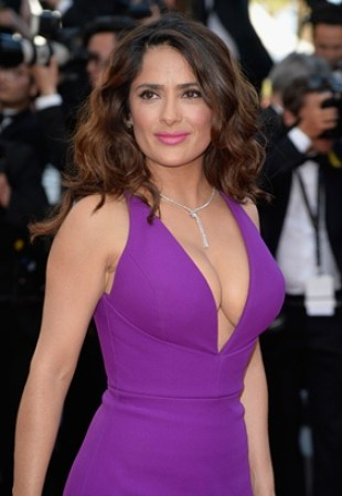 Salma Hayek Body Measurements