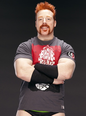 Sheamus (WWE) Body Measurements
