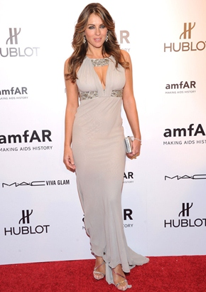 Elizabeth Hurley Height Body Figure Shape