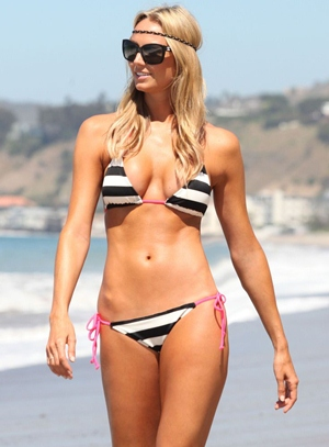 Stacy Keibler Body Measurements Bra Size