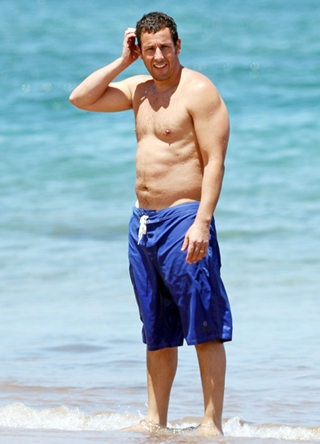 Adam Sandler Body Measurements Body Shape
