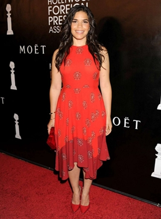 America Ferrera Height Body Figure Shape