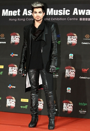 Adam Lambert Height Body Shape